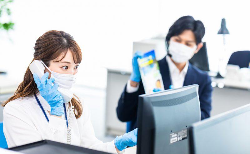 オフィスの感染症予防対策はどのようにするべきなのか?
