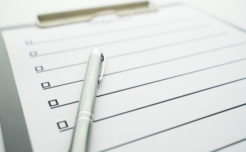 事業計画で外せない項目をチェックリスト形式でご紹介!